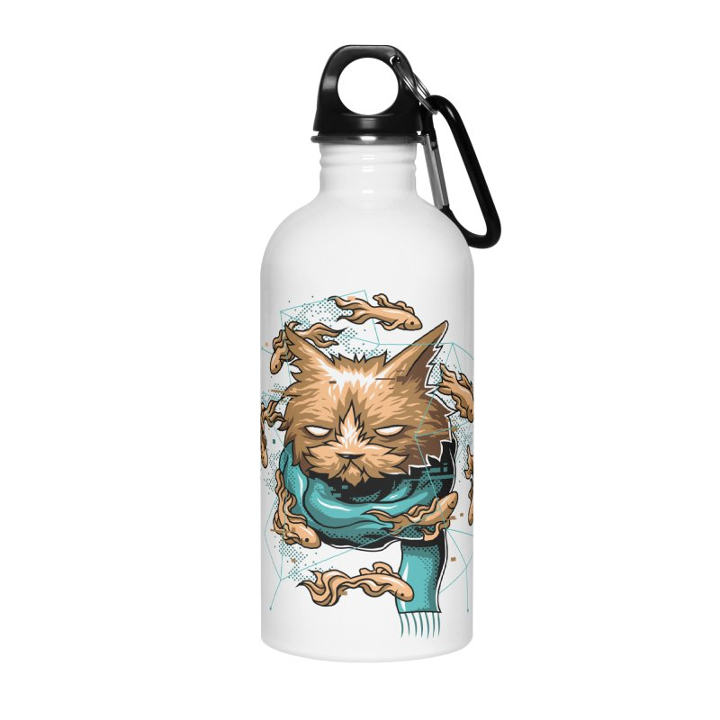 Delusion Accessories Water Bottle by anggatantama's Artist Shop