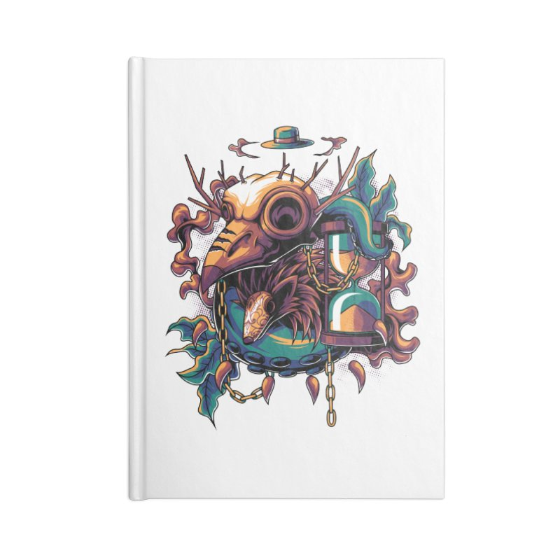 Hope in Nightmare Accessories Notebook by anggatantama's Artist Shop
