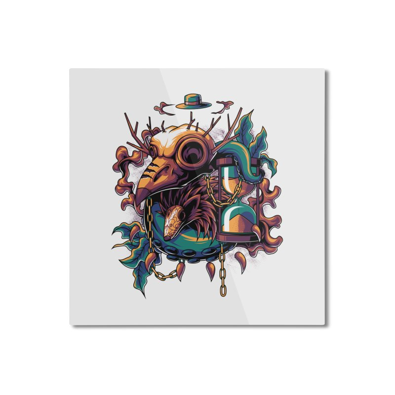 Hope in Nightmare Home Mounted Aluminum Print by anggatantama's Artist Shop