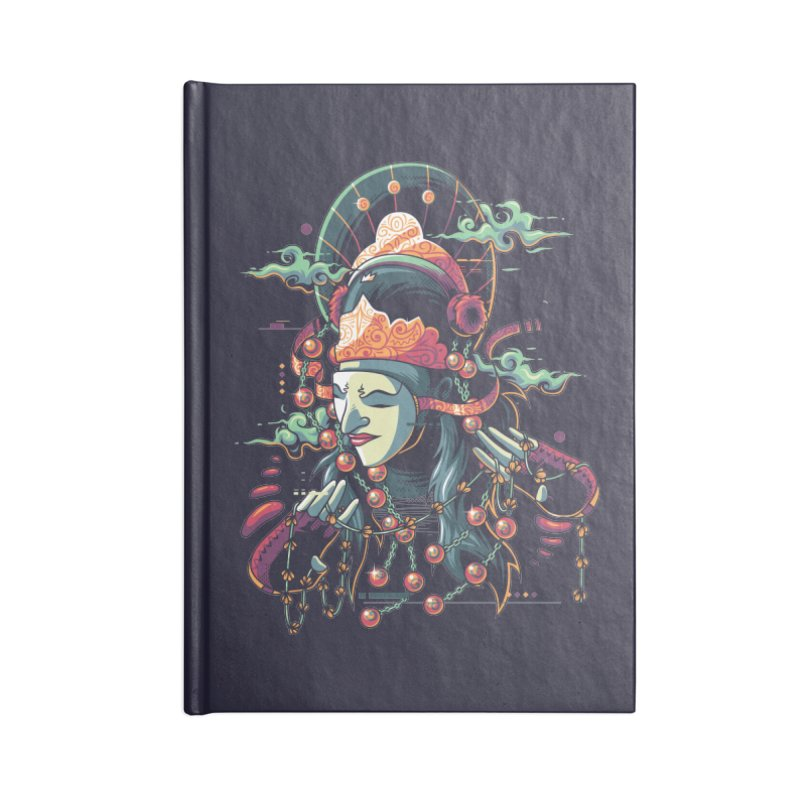 Tari Topeng Accessories Notebook by anggatantama's Artist Shop