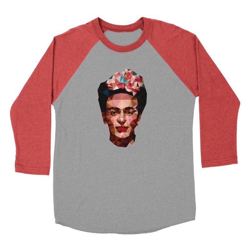 Frida Women's Baseball Triblend T-Shirt by Angie Jones