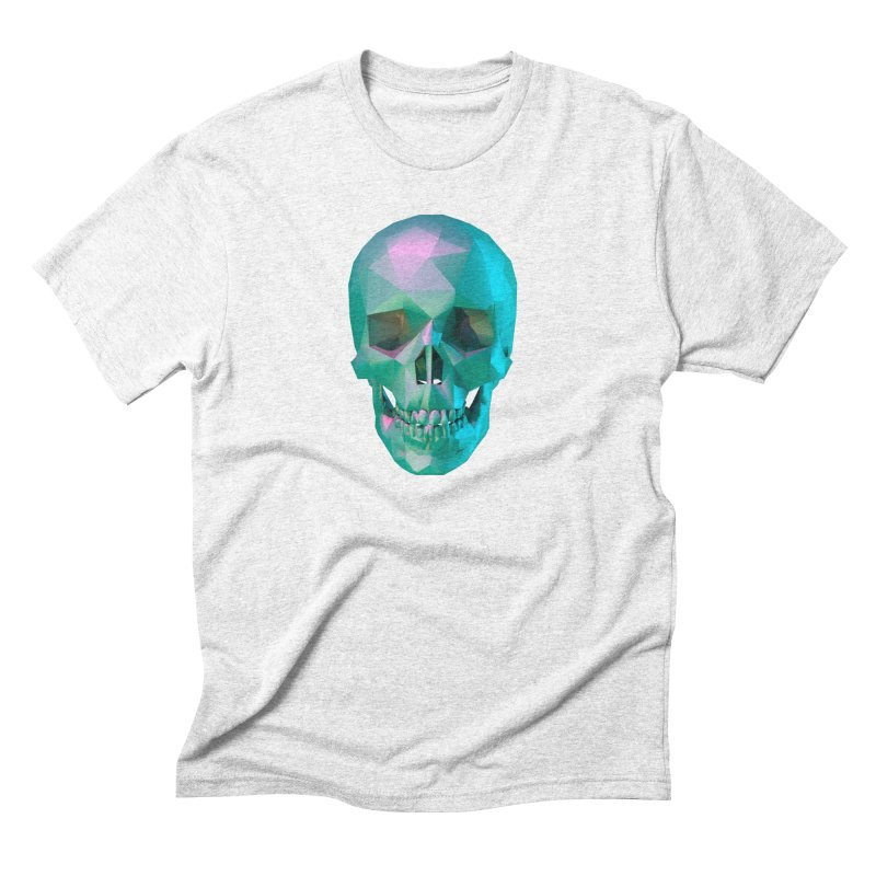 After Life in Men's Triblend T-shirt Heather White by Angie Jones