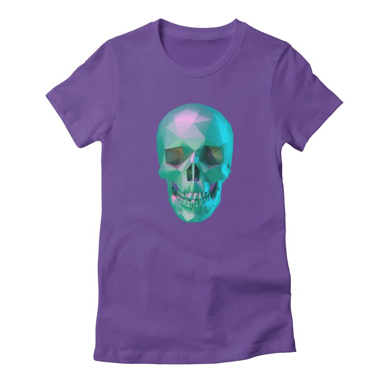 After Life Women's Fitted T-Shirt by Angie Jones