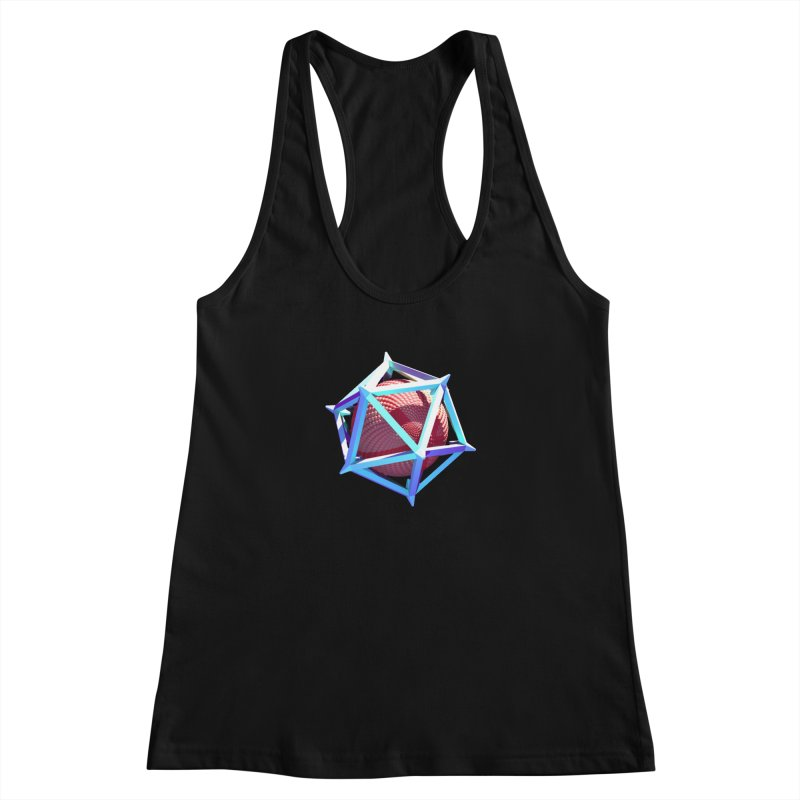 Hollow Icosahedron Women's Tank by Angie Jones