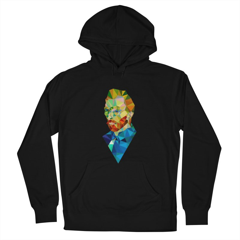 Meneer van Gogh Women's Pullover Hoody by Angie Jones