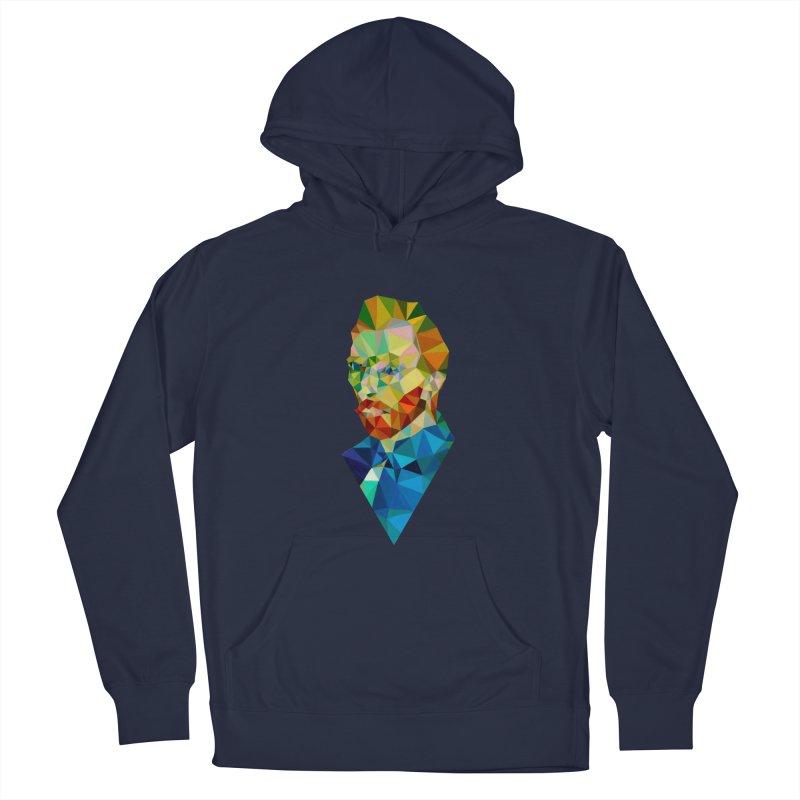 Meneer van Gogh Men's Pullover Hoody by Angie Jones