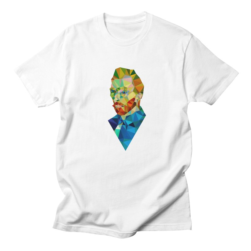 Meneer van Gogh Men's T-Shirt by Angie Jones