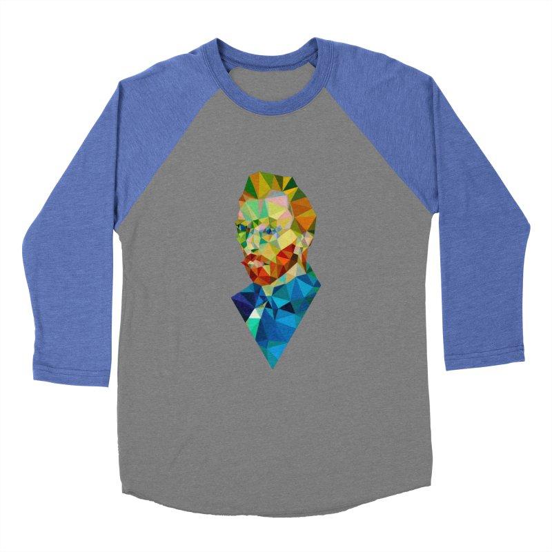 Meneer van Gogh Women's Baseball Triblend T-Shirt by Angie Jones