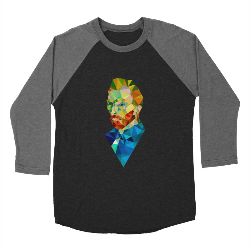 Meneer van Gogh Men's Baseball Triblend T-Shirt by Angie Jones