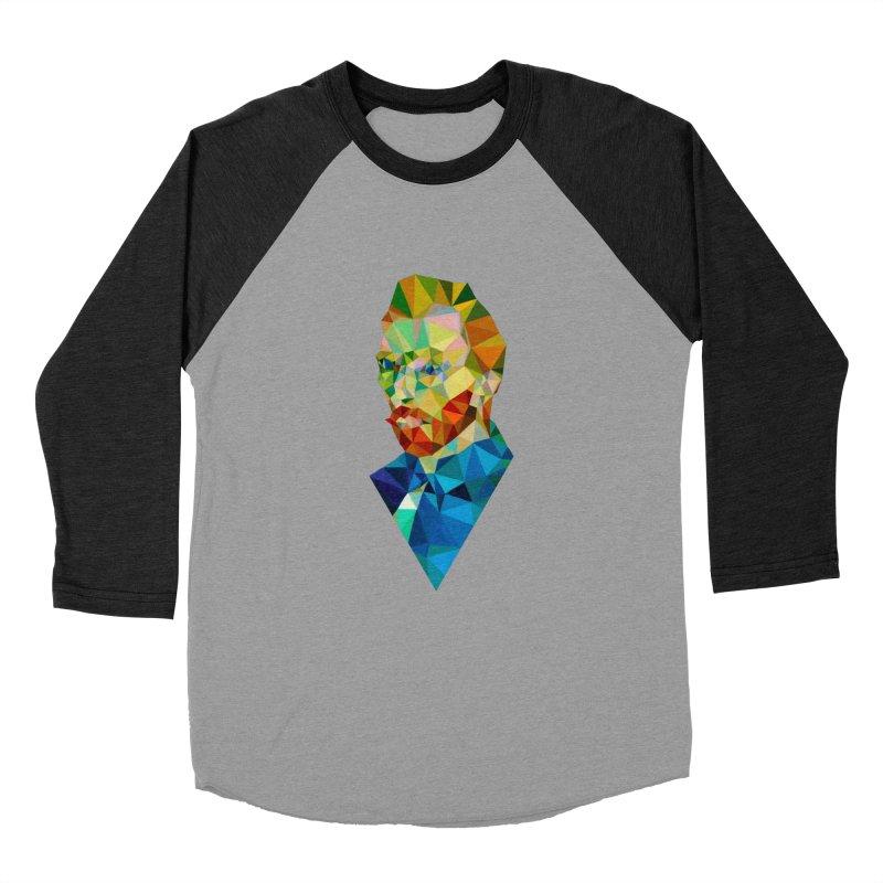 Meneer van Gogh Men's Baseball Triblend T-Shirt by Angie Jones