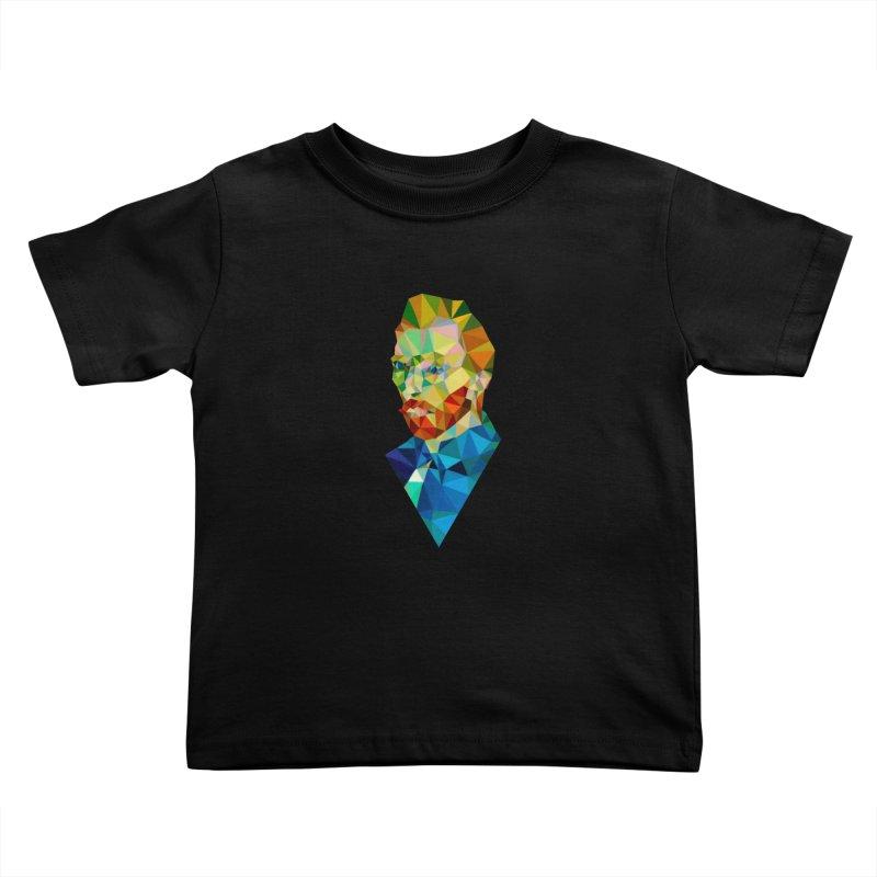 Meneer van Gogh Kids Toddler T-Shirt by Angie Jones