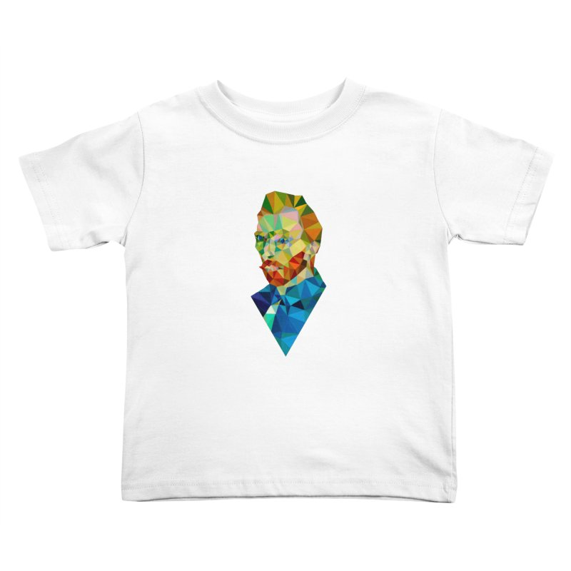 Meneer van Gogh Kids Toddler T-Shirt by Angie Jones
