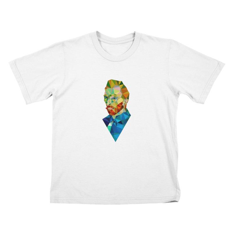 Meneer van Gogh Kids T-shirt by Angie Jones