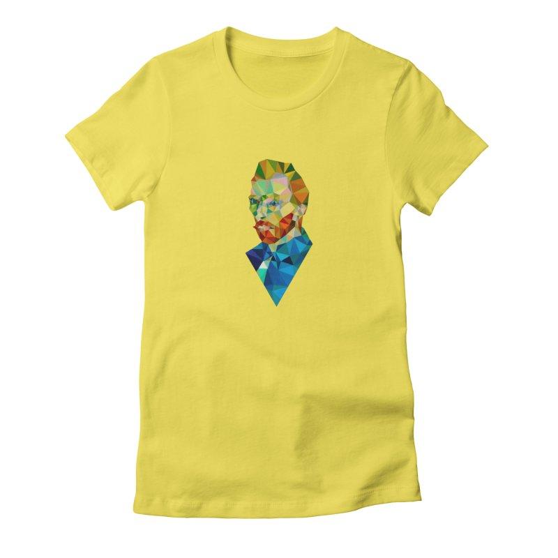 Meneer van Gogh Women's French Terry Pullover Hoody by Angie Jones
