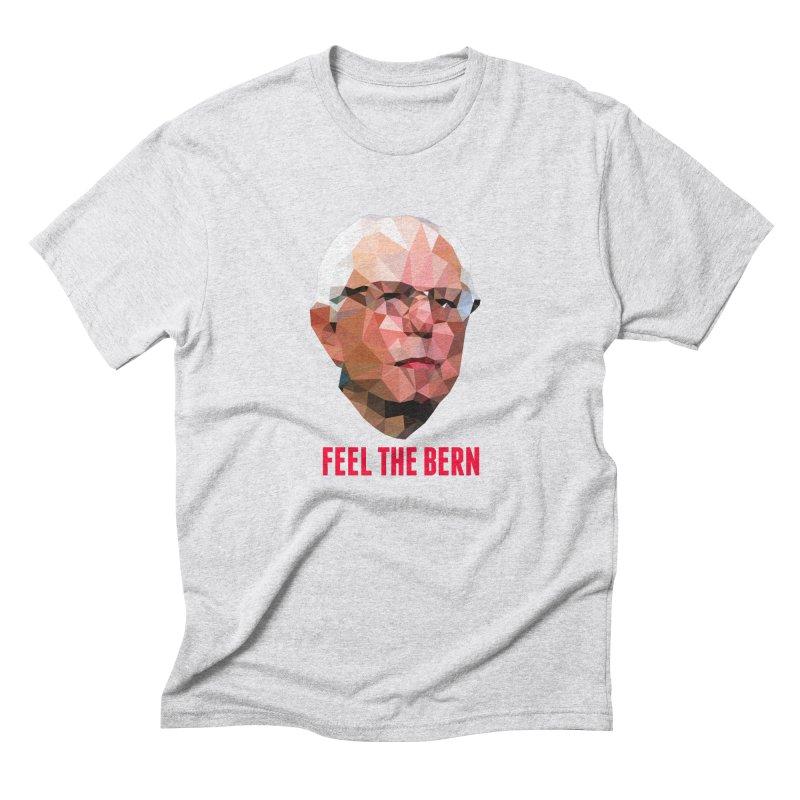 Bernie Men's Triblend T-Shirt by Angie Jones