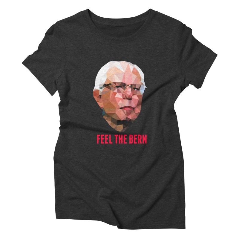 Bernie Women's Triblend T-shirt by Angie Jones