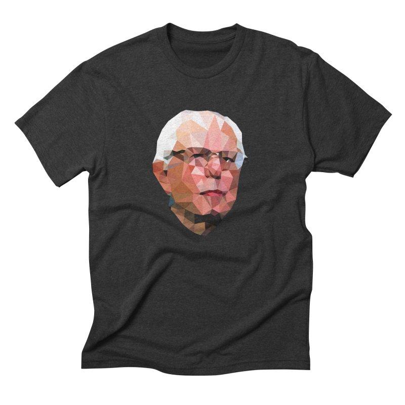 Bernie II Men's Triblend T-shirt by Angie Jones