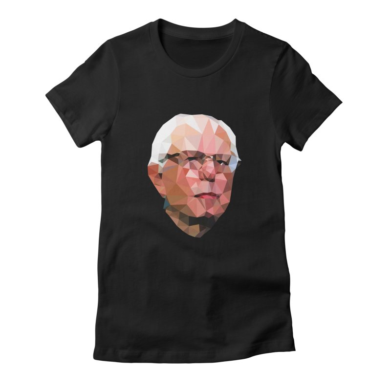 Bernie II Women's Fitted T-Shirt by Angie Jones