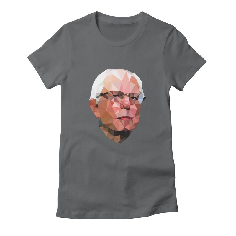 Bernie II Women's Fitted T-Shirt by Angie Jones