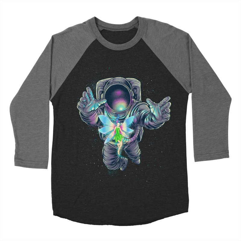 Spacefairy Women's Baseball Triblend Longsleeve T-Shirt by angoes25's Artist Shop