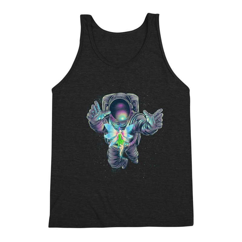 Spacefairy Men's Triblend Tank by angoes25's Artist Shop