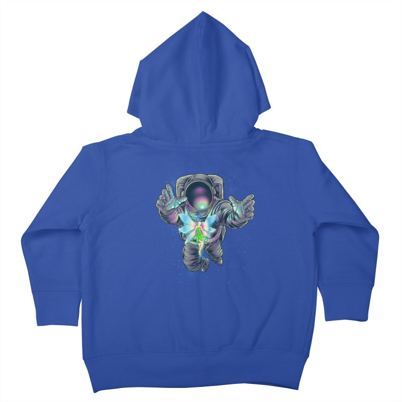 Spacefairy Kids Toddler Zip-Up Hoody by angoes25's Artist Shop
