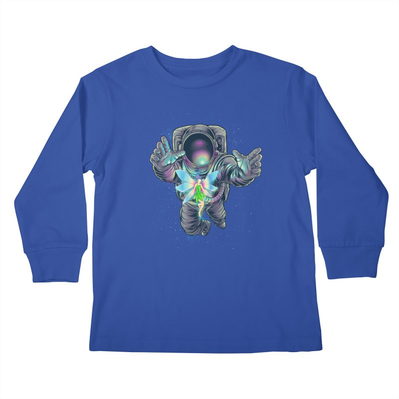 Spacefairy Kids Longsleeve T-Shirt by angoes25's Artist Shop