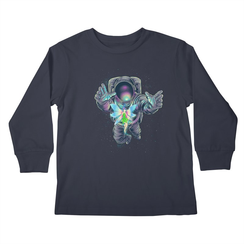 Spacefairy Kids Longsleeve T-Shirt by angoes25's Artist Shop