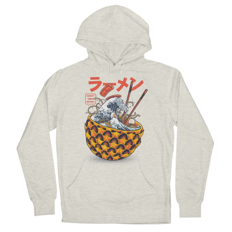 Great Vibes Ramen Women's French Terry Pullover Hoody by angoes25's Artist Shop