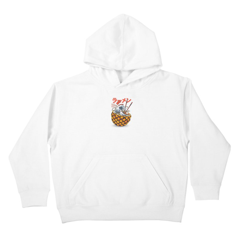 Great Vibes Ramen Kids Pullover Hoody by angoes25's Artist Shop