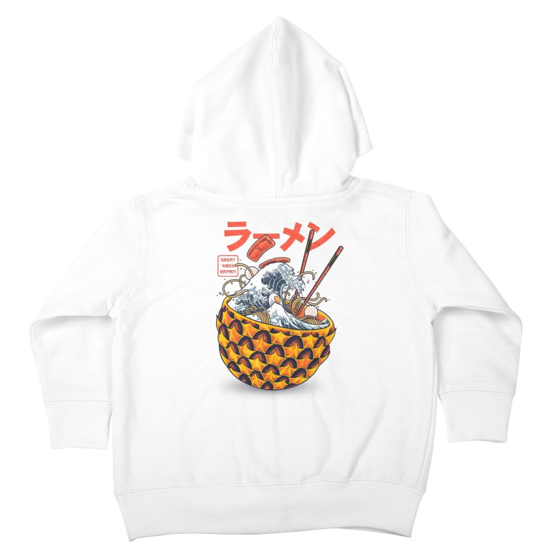 Great Vibes Ramen Kids Toddler Zip-Up Hoody by angoes25's Artist Shop