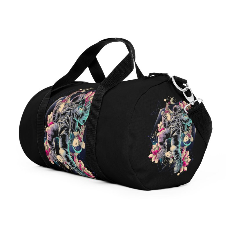 Deep Space Accessories Duffel Bag Bag by angoes25's Artist Shop