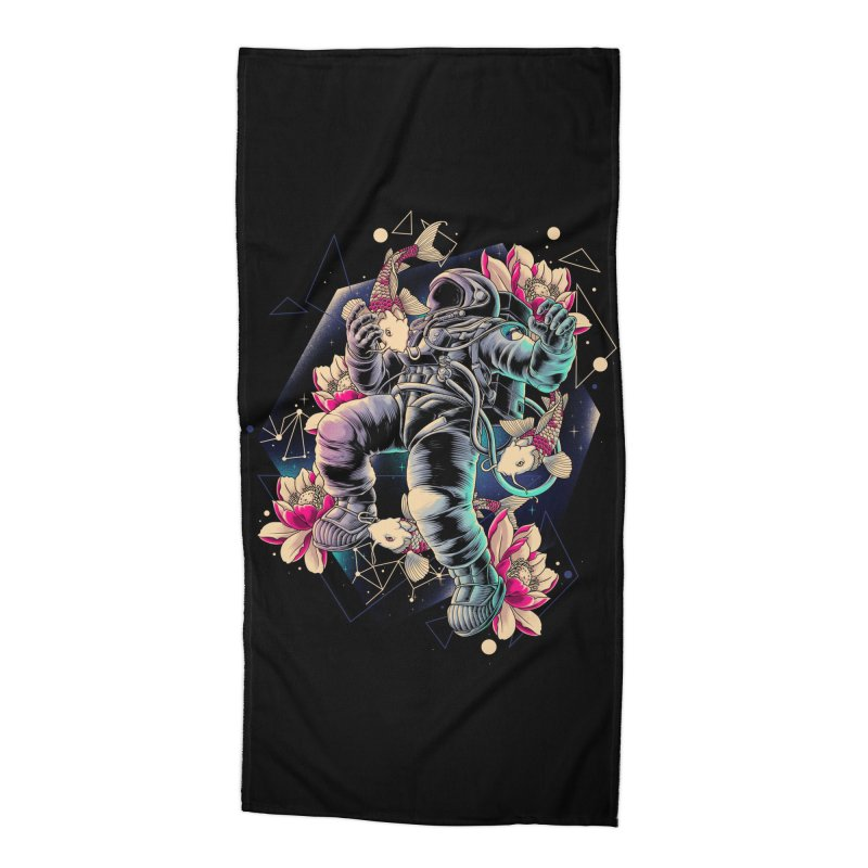 Deep Space Accessories Beach Towel by angoes25's Artist Shop