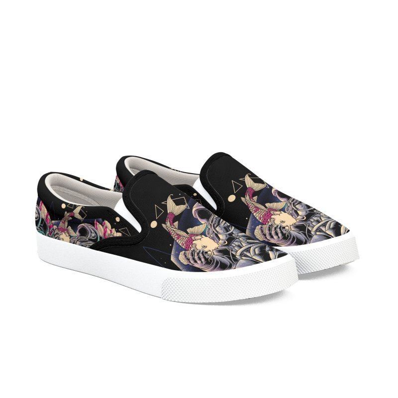 Deep Space Women's Slip-On Shoes by angoes25's Artist Shop