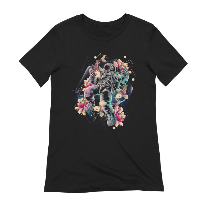 Deep Space Women's Extra Soft T-Shirt by angoes25's Artist Shop
