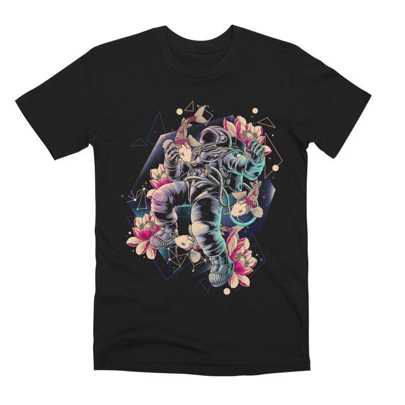 Deep Space Men's Premium T-Shirt by angoes25's Artist Shop