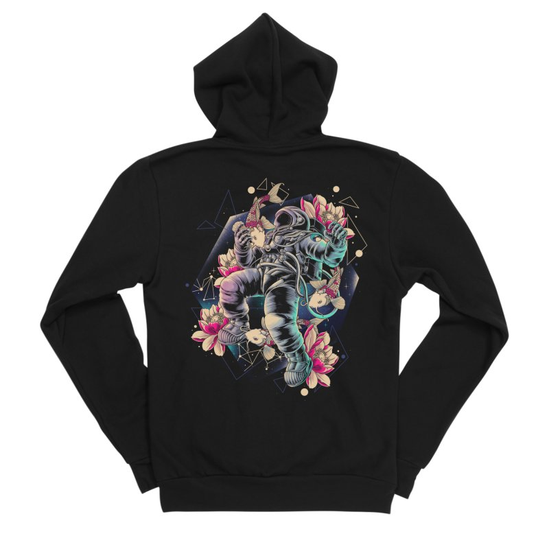 Deep Space Women's Zip-Up Hoody by angoes25's Artist Shop