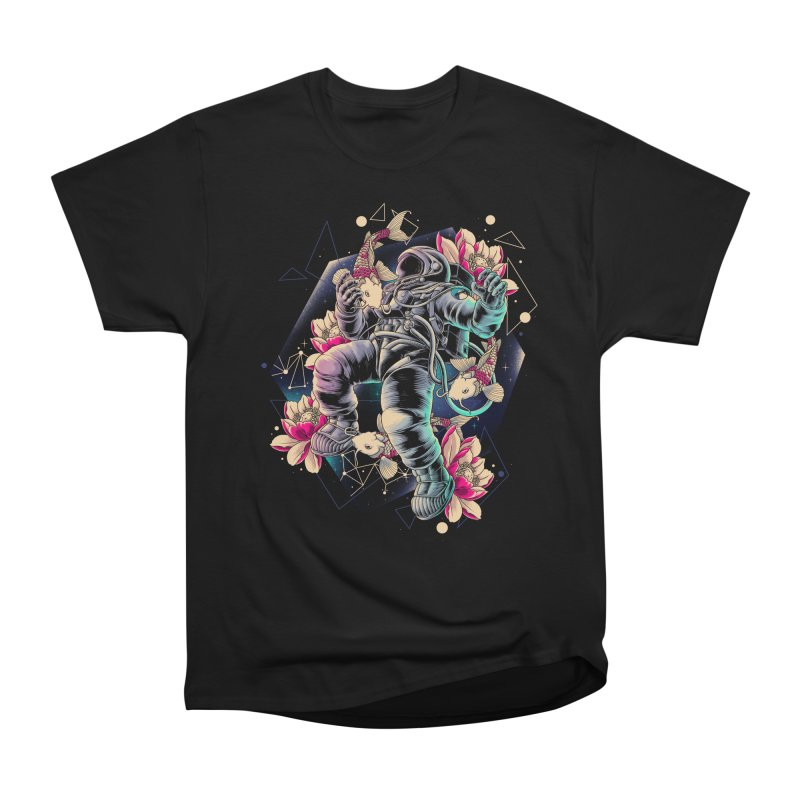 Deep Space Women's Heavyweight Unisex T-Shirt by angoes25's Artist Shop