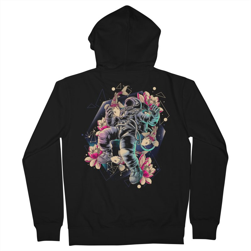 Deep Space Women's French Terry Zip-Up Hoody by angoes25's Artist Shop