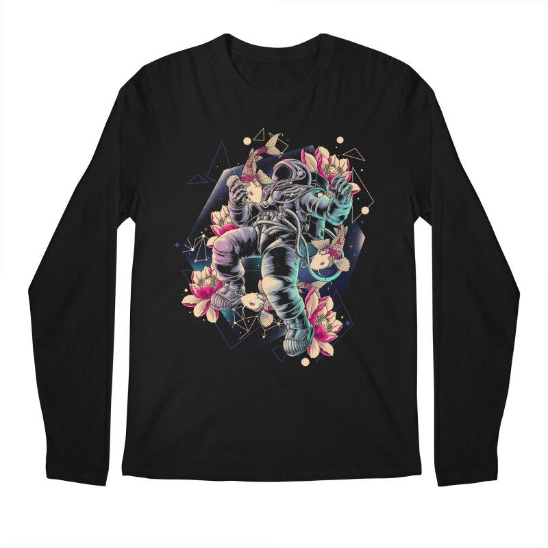 Deep Space Men's Regular Longsleeve T-Shirt by angoes25's Artist Shop
