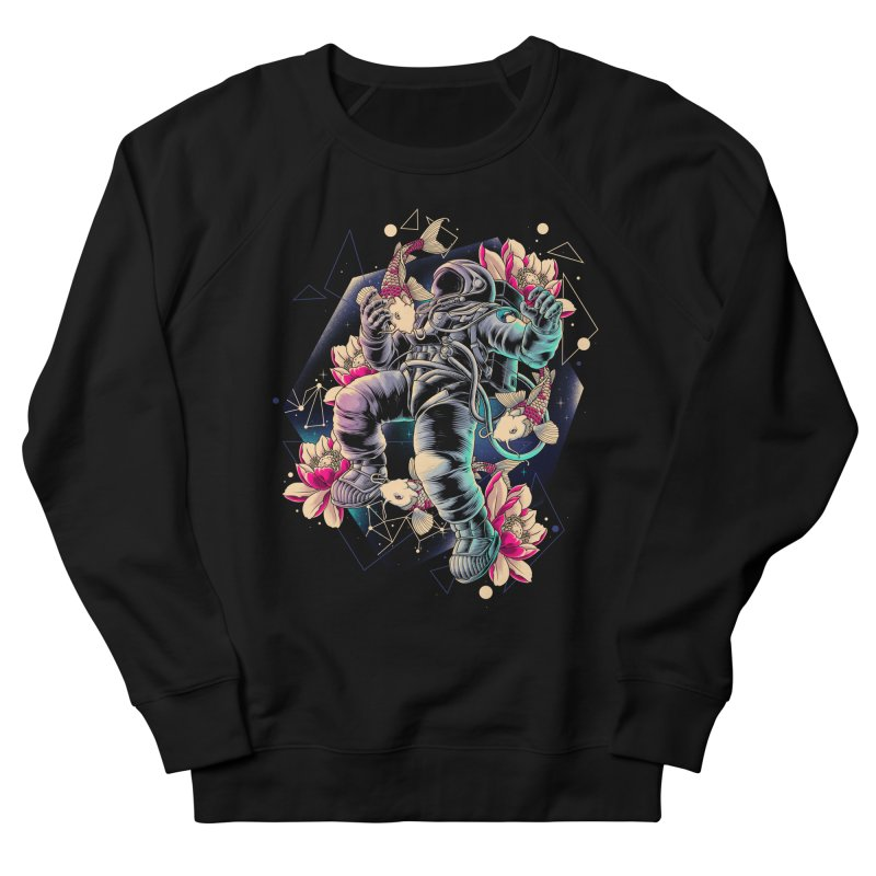 Deep Space Men's French Terry Sweatshirt by angoes25's Artist Shop
