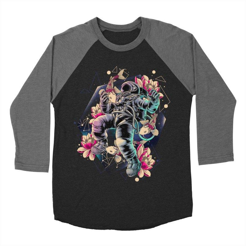 Deep Space Men's Baseball Triblend Longsleeve T-Shirt by angoes25's Artist Shop