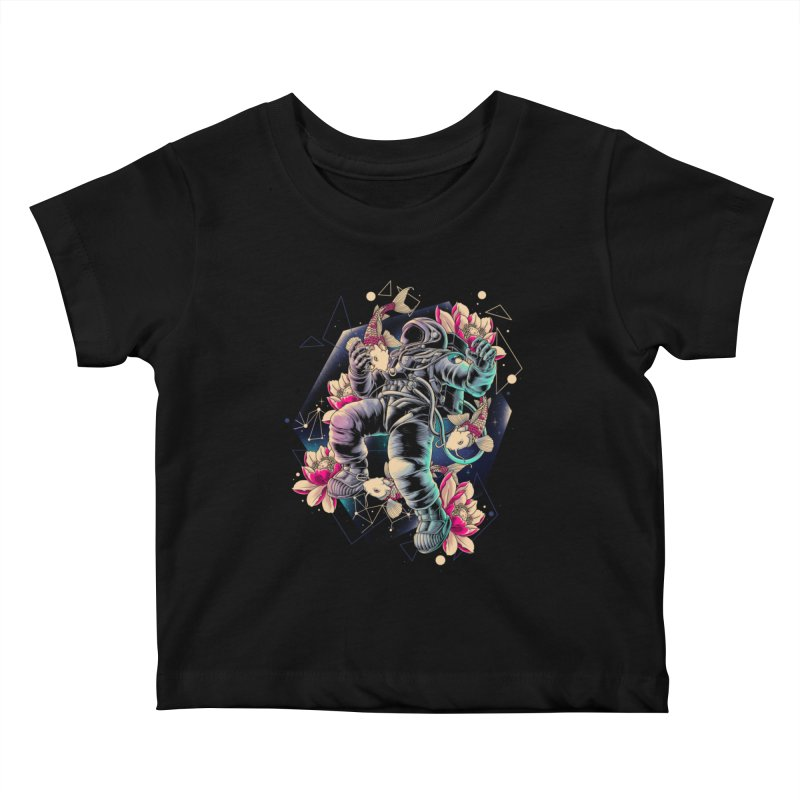 Deep Space Kids Baby T-Shirt by angoes25's Artist Shop
