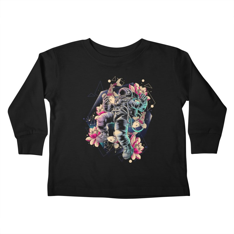 Deep Space Kids Toddler Longsleeve T-Shirt by angoes25's Artist Shop