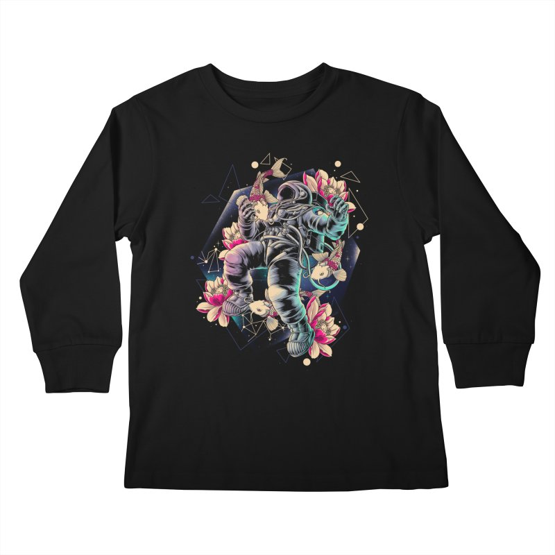 Deep Space Kids Longsleeve T-Shirt by angoes25's Artist Shop