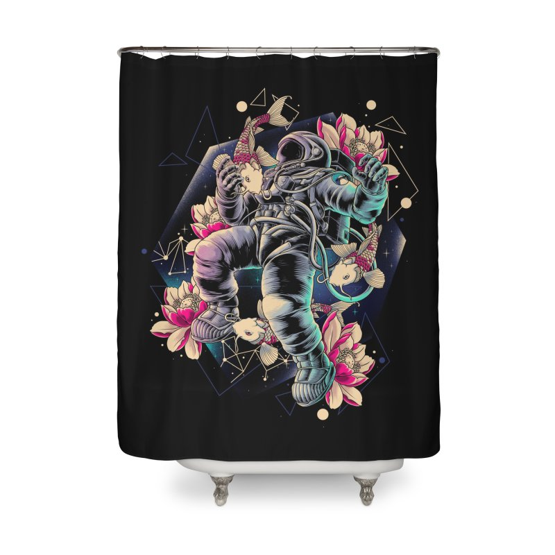 Deep Space Home Shower Curtain by angoes25's Artist Shop