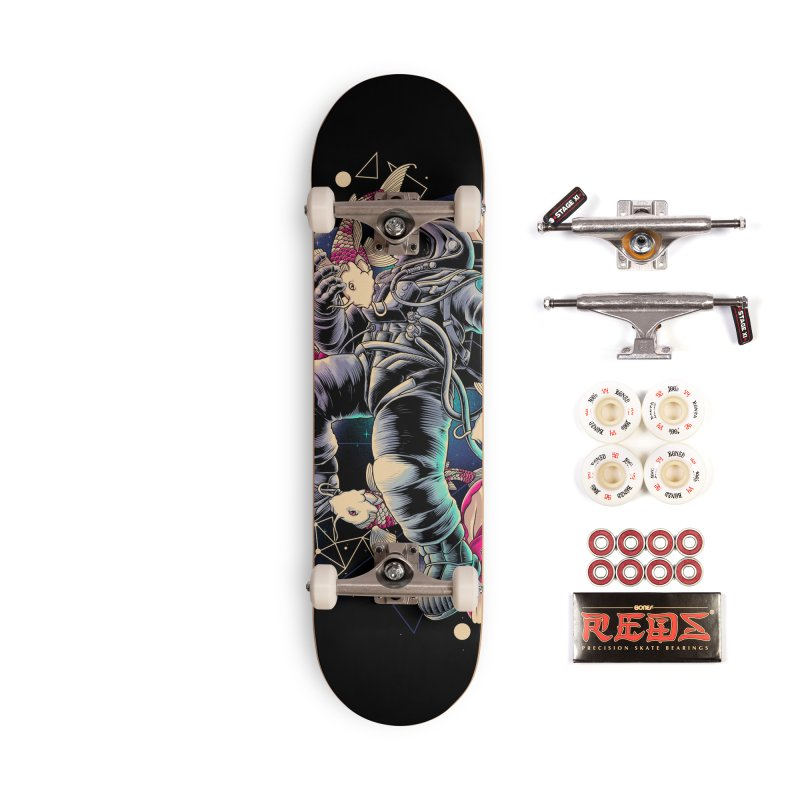 Deep Space Accessories Complete - Pro Skateboard by angoes25's Artist Shop