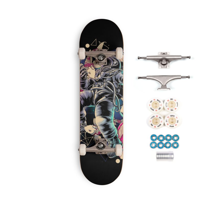 Deep Space Accessories Complete - Premium Skateboard by angoes25's Artist Shop