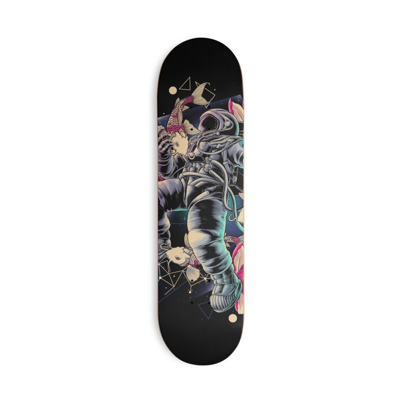 Deep Space Accessories Skateboard by angoes25's Artist Shop