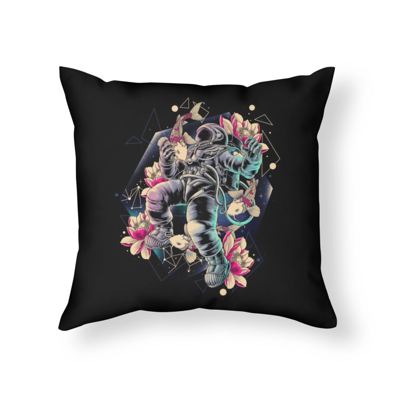 Deep Space Home Throw Pillow by angoes25's Artist Shop